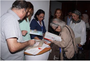 2.Présentation de l'activité Biloba au public présent au symposium Oran 7 octobre 2015